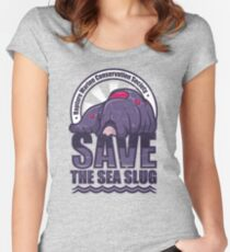 Save the Sea Slug Women's Fitted Scoop T-Shirt