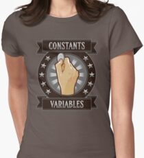 Constants & Variables Womens Fitted T-Shirt