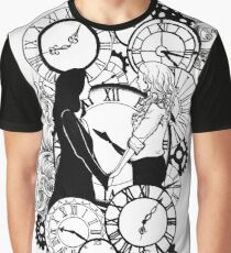 Time Led Me To You (Line Art Version) Graphic T-Shirt