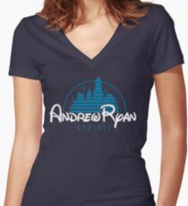 Andrew Ryan Women's Fitted V-Neck T-Shirt
