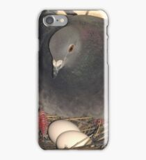 """Hatching eggs. """"Mothers Day"""". Mom. Grandma. iPhone Case/Skin"""