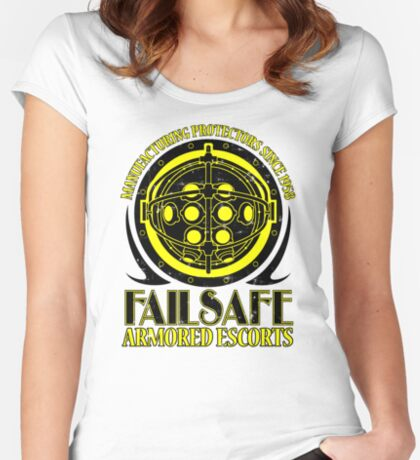 Failsafe Armored Escorts worn Women's Fitted Scoop T-Shirt