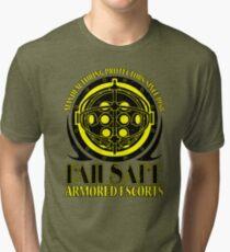 Failsafe Armored Escorts worn Tri-blend T-Shirt