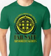 Failsafe Armored Escorts worn Unisex T-Shirt