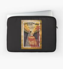 Climbing Ladder Of Love Sheet Music Flamenco Laptop Sleeve