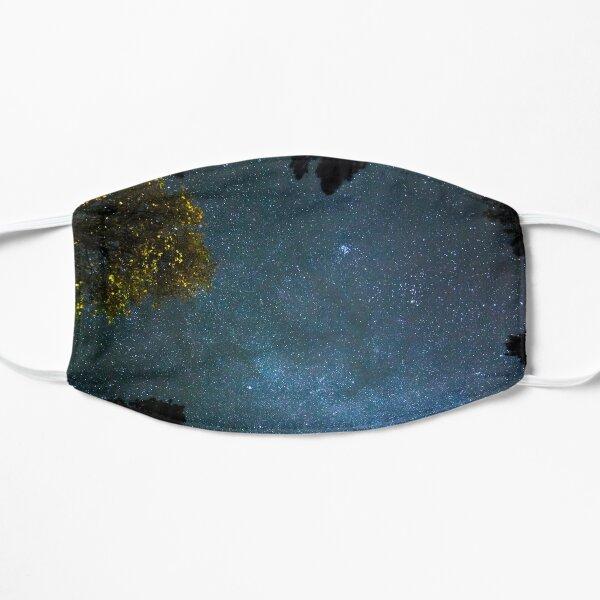 Galaxy Art Design | Night Stars Blue  Flat Mask