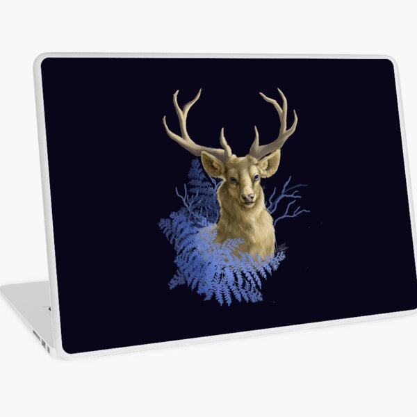 Golden hart Laptop Skin