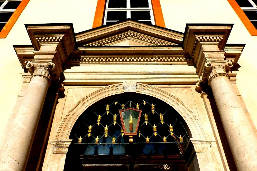 Entrance porch Ettal Abbey by ©The Creative  Minds