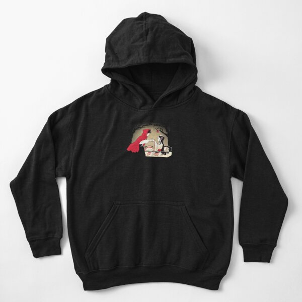 Red Riding Hood and Snow White Kids Pullover Hoodie