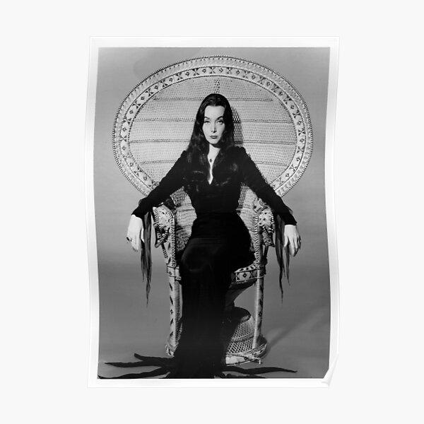 Morticia Addams Poster