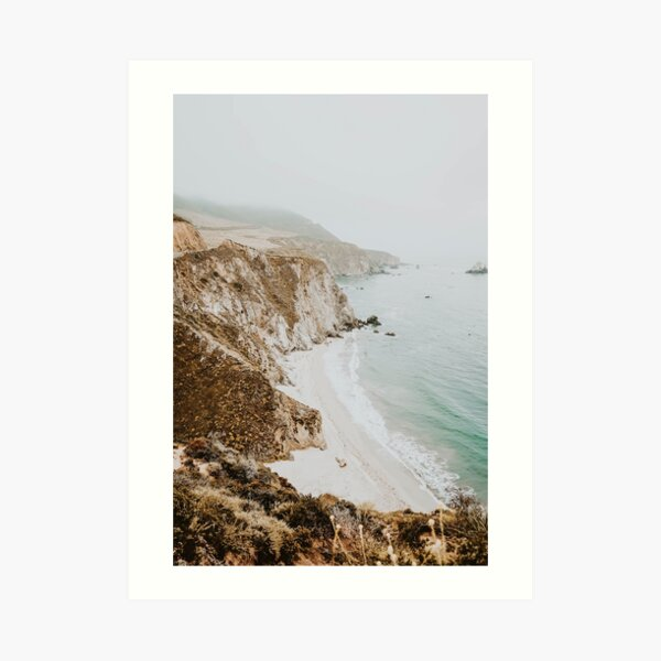 california coast v / big sur Art Print
