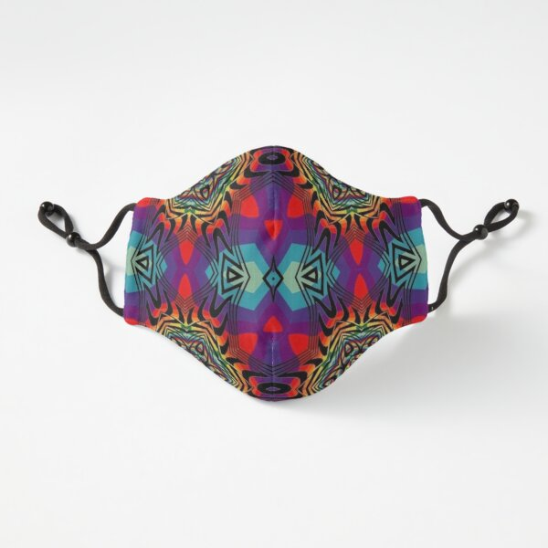 Fitted Masks, Psychedelic art, Art movement Fitted 3-Layer
