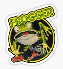 Frogger Sticker