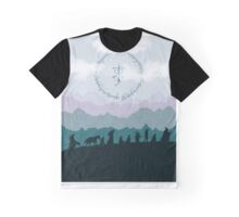 Fellowship Silhouette - Misty Mountains Graphic T-Shirt