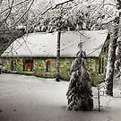 Stone House Mindscape by Wayne King