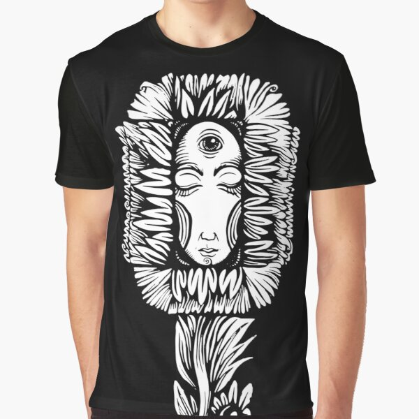 Night Flower Graphic T-Shirt
