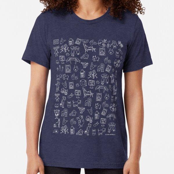 Pet Rescue Mosaic Tri-blend T-Shirt