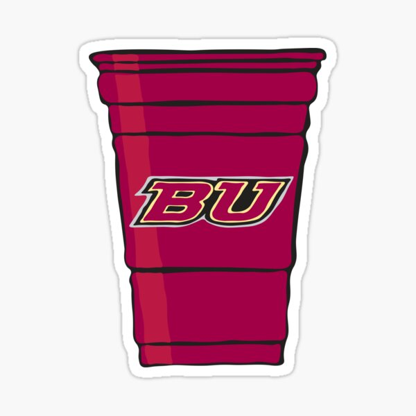 BU Red Cup Sticker