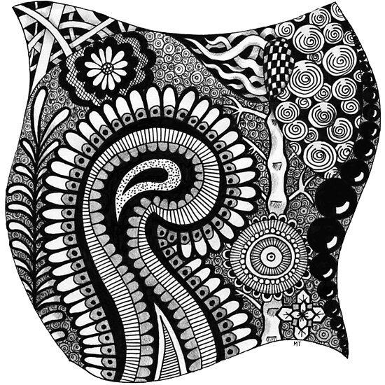 Black and White Design # 01 by MyArtefacts