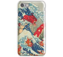 The Great Red Wave iPhone Case/Skin