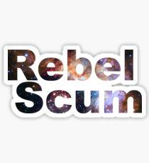 Rebel Scum Sticker