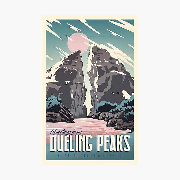 Salutations de Dueling Peaks Impression photo