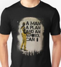 A Man, A Plan and an Aerosol Can T-Shirt