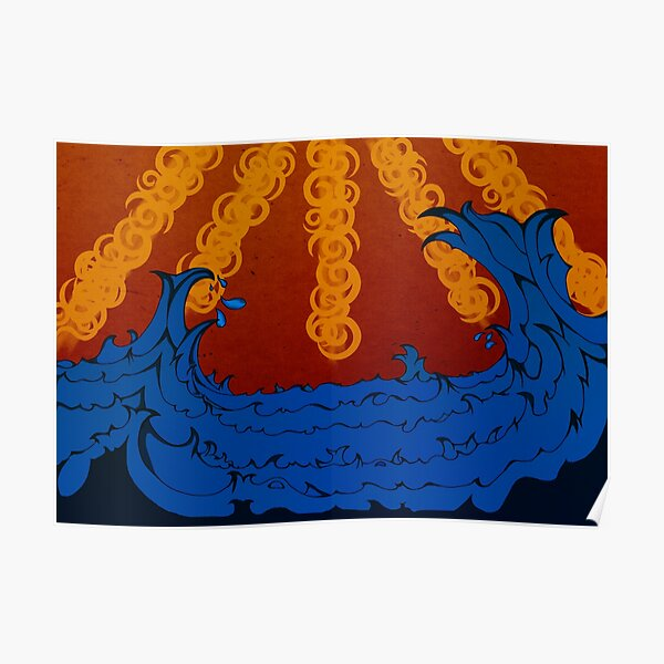 Sublime Waves Poster