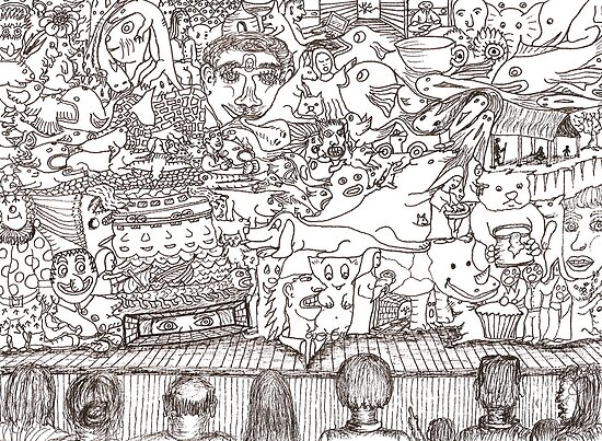 Doodles - The Stage Show by David Fraser