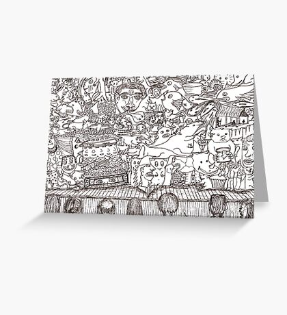 Doodles - The Stage Show Greeting Card