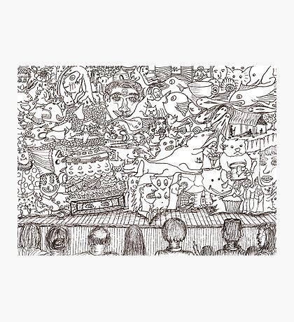 Doodles - The Stage Show Photographic Print