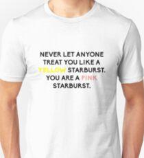 Be the Pink Starburst  Unisex T-Shirt