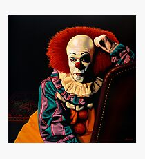 Pennywise painting Photographic Print