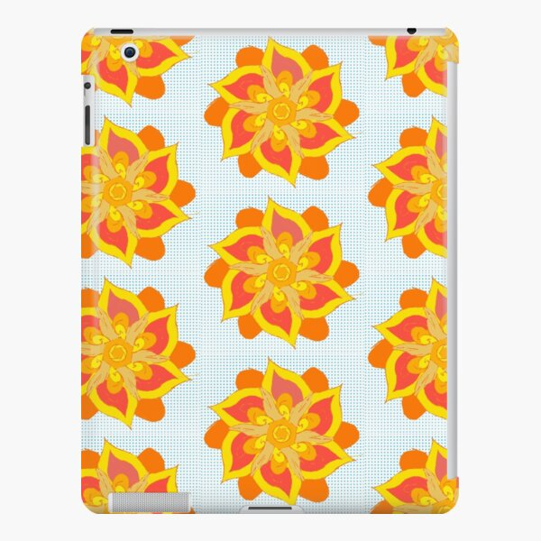 Orange and Yellow Mandala  iPad Snap Case