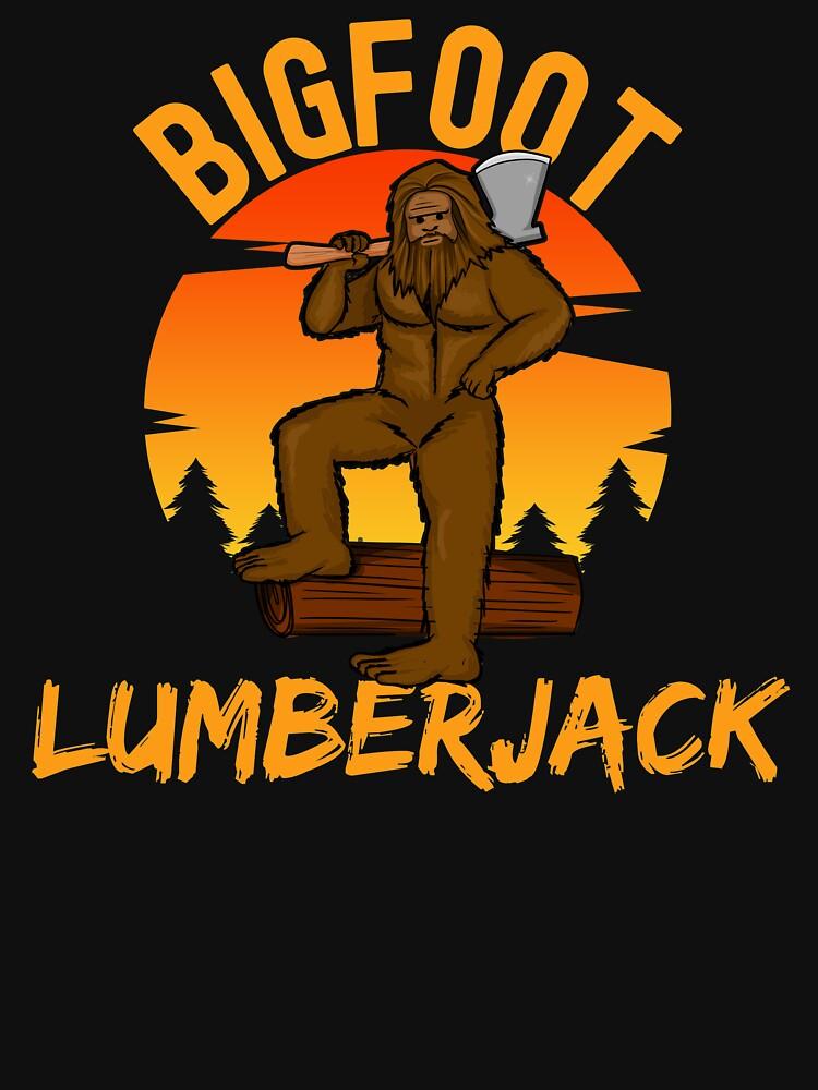 bigfoot lumberjack, sasquatch by ds-4