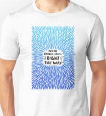Bridges Burned – Blue Ombré Unisex T-Shirt