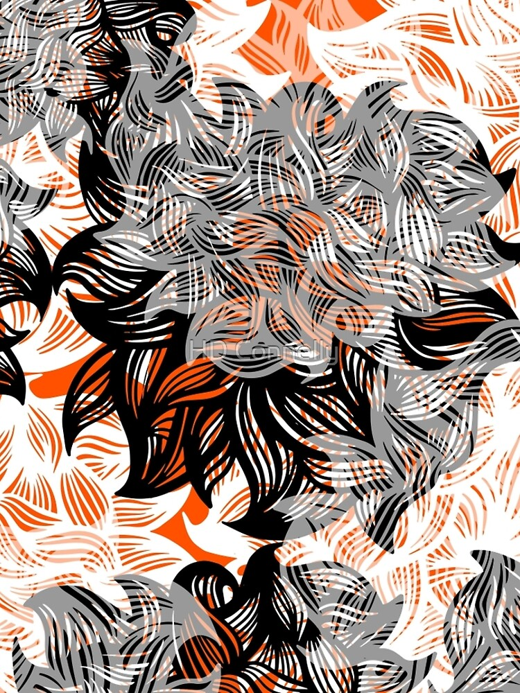 floral abstraction by hdconnelly