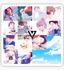 Seventeen  Sticker