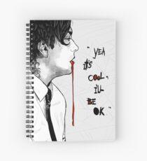 Frank Iero Spiral Notebook