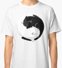 Yin Yang Cats - version 2 Classic T-Shirt