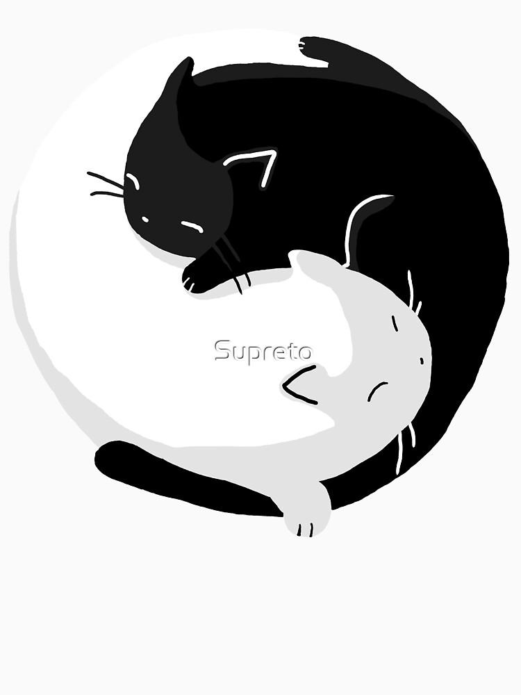 Yin Yang Cats - version 2 by Supreto