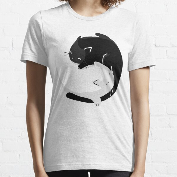 Yin Yang Cats - version 2 Essential T-Shirt