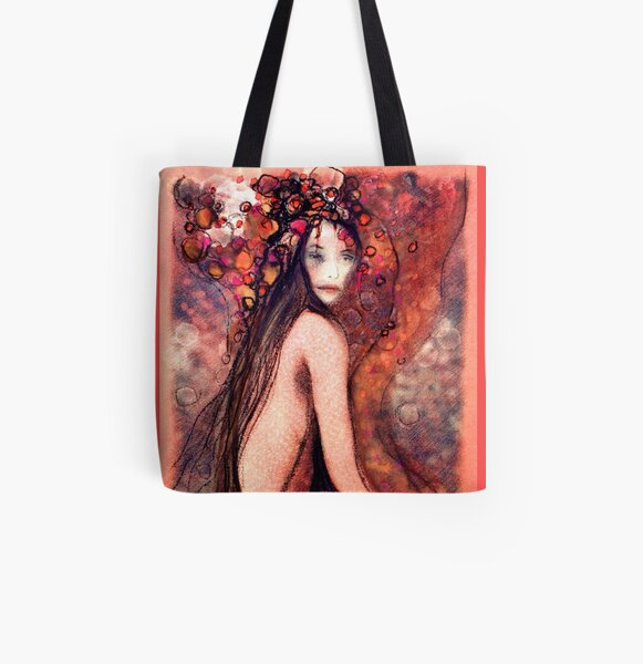 Fauning All Over Print Tote Bag