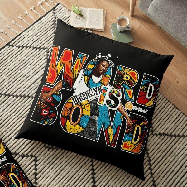 Word is Bond Ol Dirty Classic Vintage Hip Hop Art Floor Pillow