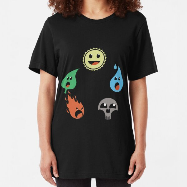MAGICAL MANA WHEEL Slim Fit T-Shirt