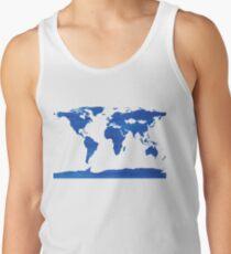 sdd World Map 1J Men's Tank Top