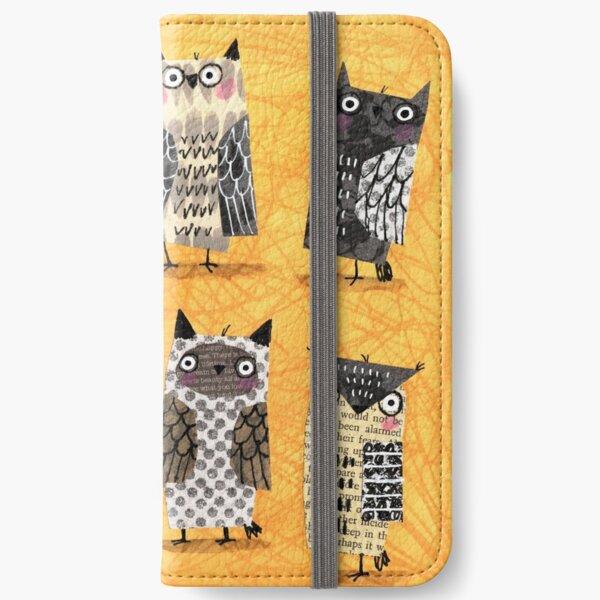 PAPER OWLS iPhone Wallet