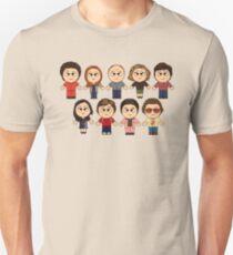 THAT 70'S SHOW - MAIN CHARACTERS CHIBI - MANGA 70'S SHOW T-Shirt
