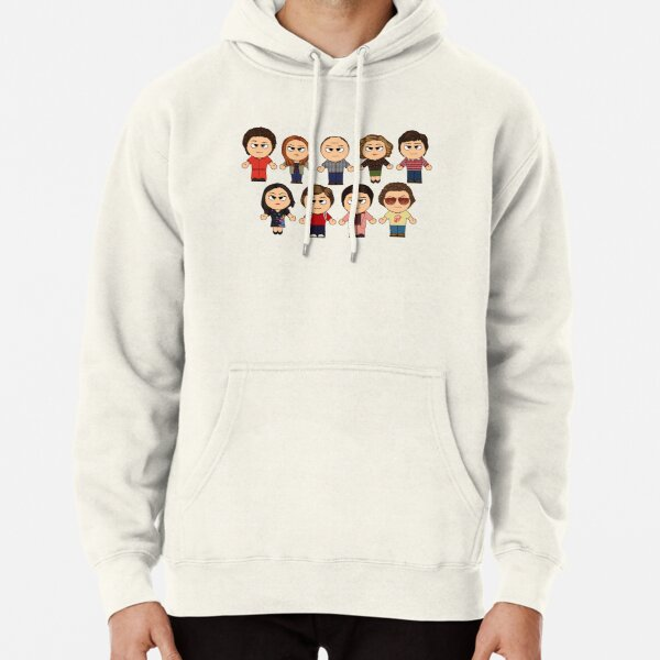 THAT 70'S SHOW - MAIN CHARACTERS CHIBI - MANGA 70'S SHOW Pullover Hoodie
