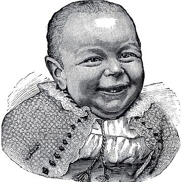 Vintage Ugly Baby by cartoon